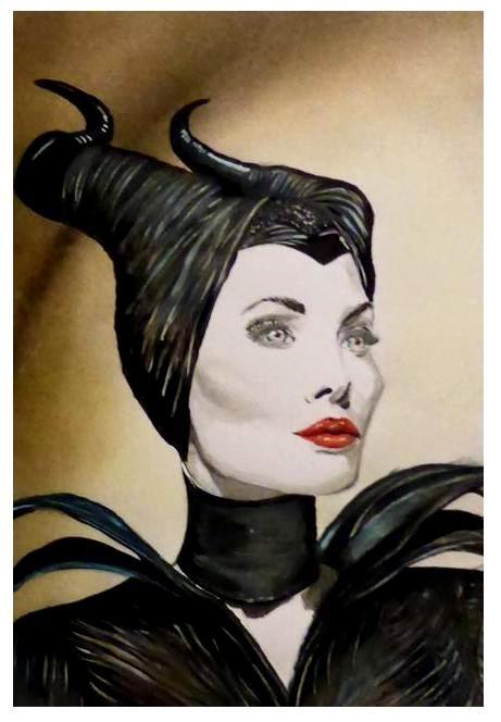 Angelina Jolie por jolabrodnica